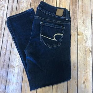 American Eagle cropped Capri jeans size 4